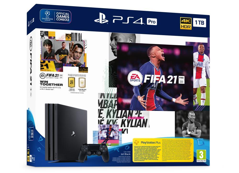 Sony Playstation 4 1TB Pro FIFA21 spēļu konsole
