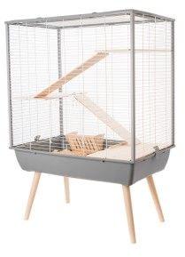 Zolux Gray cage Neo Cozy large rodents H80 grauzējiem