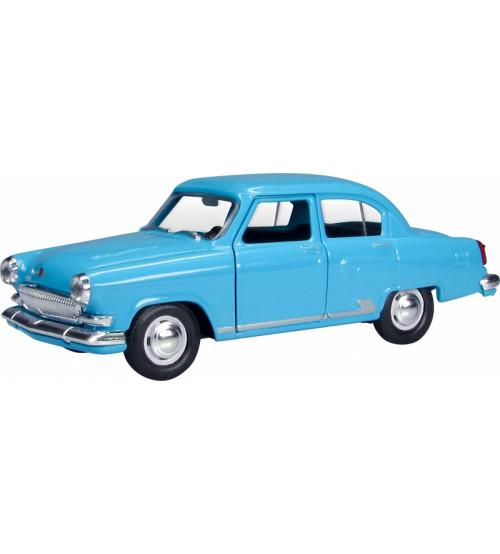 Metāla auto modelis VOLGA GAZ 21 1:43 kastē AG34100 Rotaļu auto un modeļi