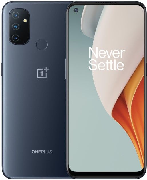 Oneplus  Nord N100 4/64GB Midnight Frost BE2013 Mobilais Telefons