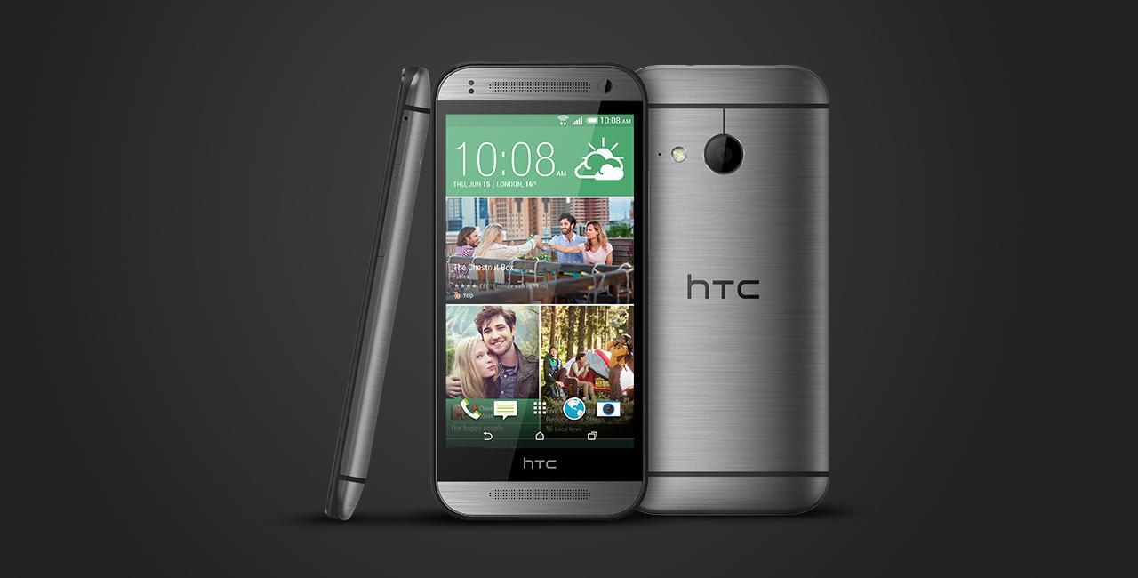 HTC M8MINn ONE Mini2 grey Used (grade:B) 9902941029304 T-MLX11024 Mobilais Telefons