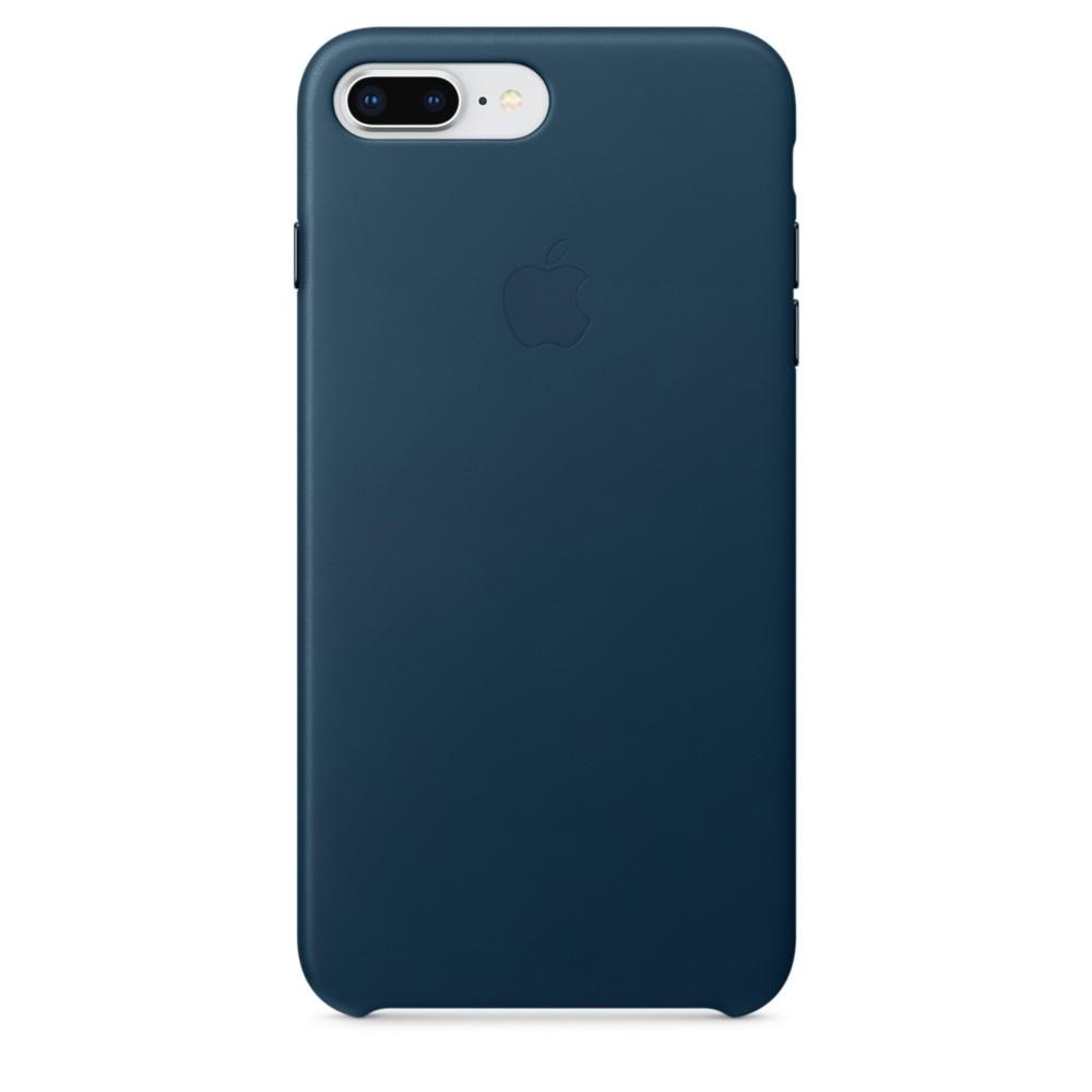 iPhone 8 Plus / 7 Plus  Leather Case -  Blue