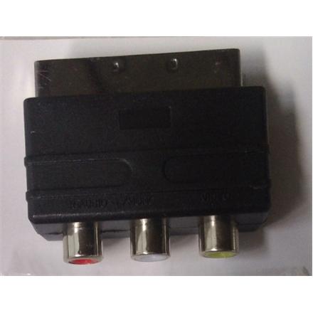 Adapter SCART to 3x RCA ESTAR