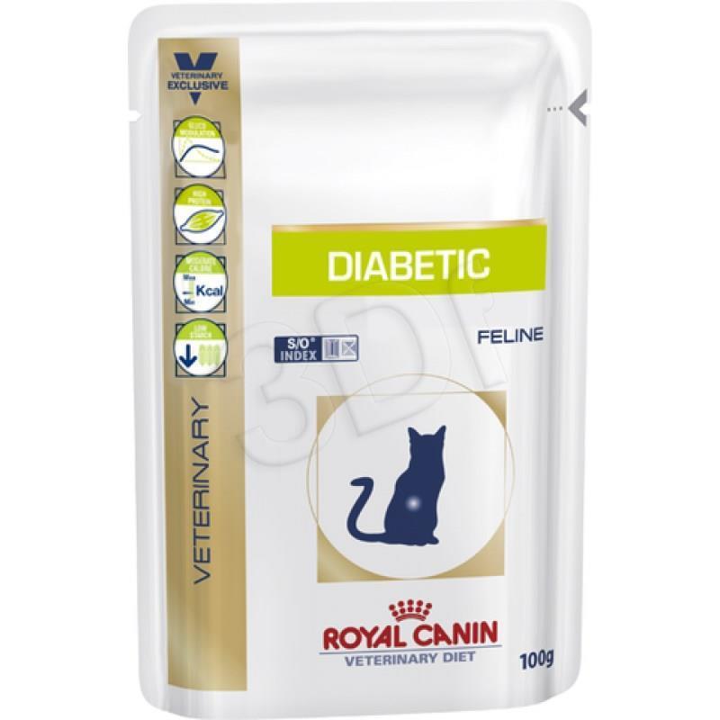 Royal Canin VD Cat Diabetic 100g kaķu barība