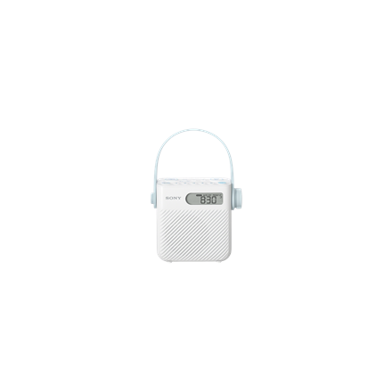 Sony Shower Radio/ White ICF-S80 mūzikas centrs