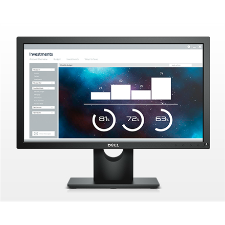 "Dell LCD E2016H 19.5"" monitors"