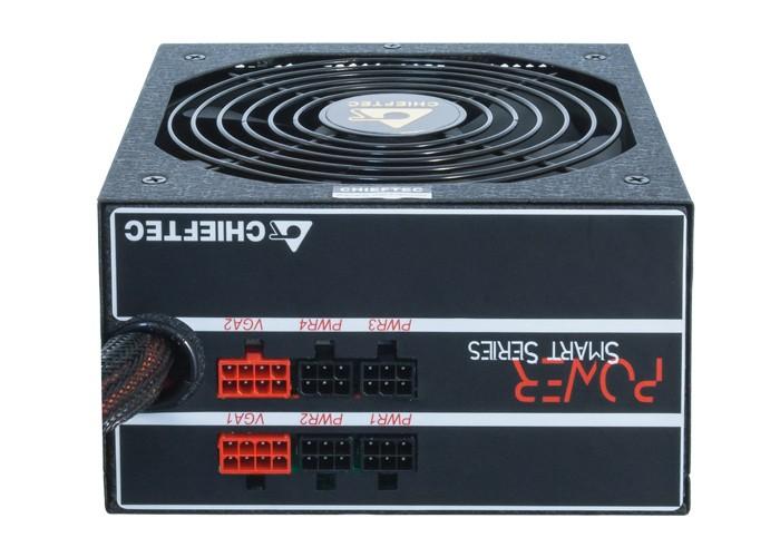 Chieftec ATX PSU 1000W Power SMART S-Modular (80+Gold) 14cm fan Barošanas bloks, PSU