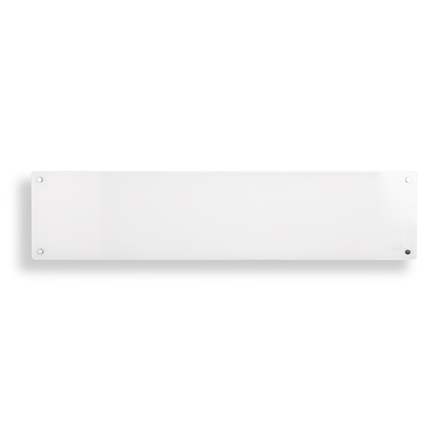 Mill Heater MB800L DN Glass Panel Heater, 800  W, Number of power levels 1, for rooms up to 10-14 m², White