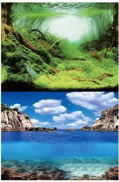 AQUA NOVA TLO L 100X50 PLANTS/OCEAN VAT007827