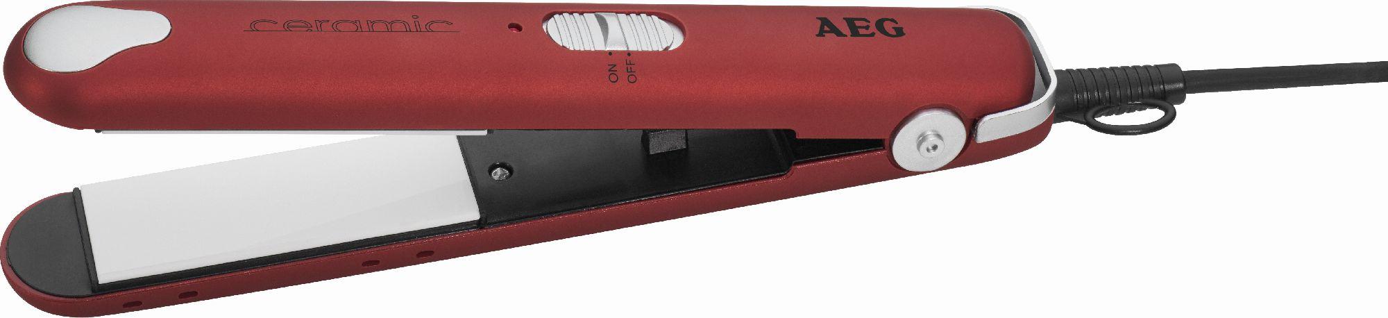 Prostownica AEG HC 5680 ( czerwono-czarna) Matu taisnotājs