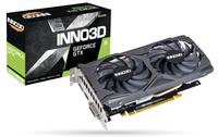 INNO3D GEFORCE GTX 1650 Super Twin X2 OC, 4GB GDDR6, DP, HDMI, DVI video karte