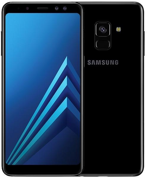 Samsung Galaxy A8 2018 Black (A530F) Mobilais Telefons