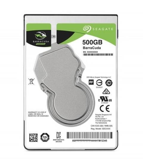 SEAGATE Barracuda Pro 500GB HDD SATA cietais disks