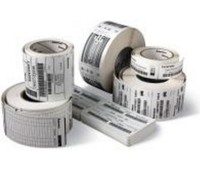 Zebra Label roll, 102x76mm thermal paper, 12 rolls/box 800264-305, 35-800264-305