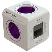 Mehrfachsteckdose PowerCube with 2 USB Kaltgerate Schuko elektrības pagarinātājs