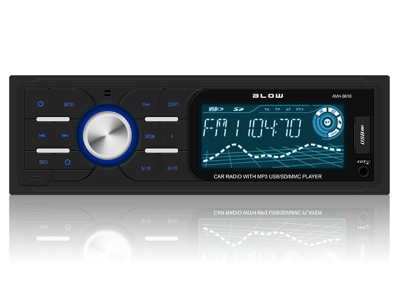 Radio BLOW AVH-8610 MP3/USB/SD/MMC automagnetola