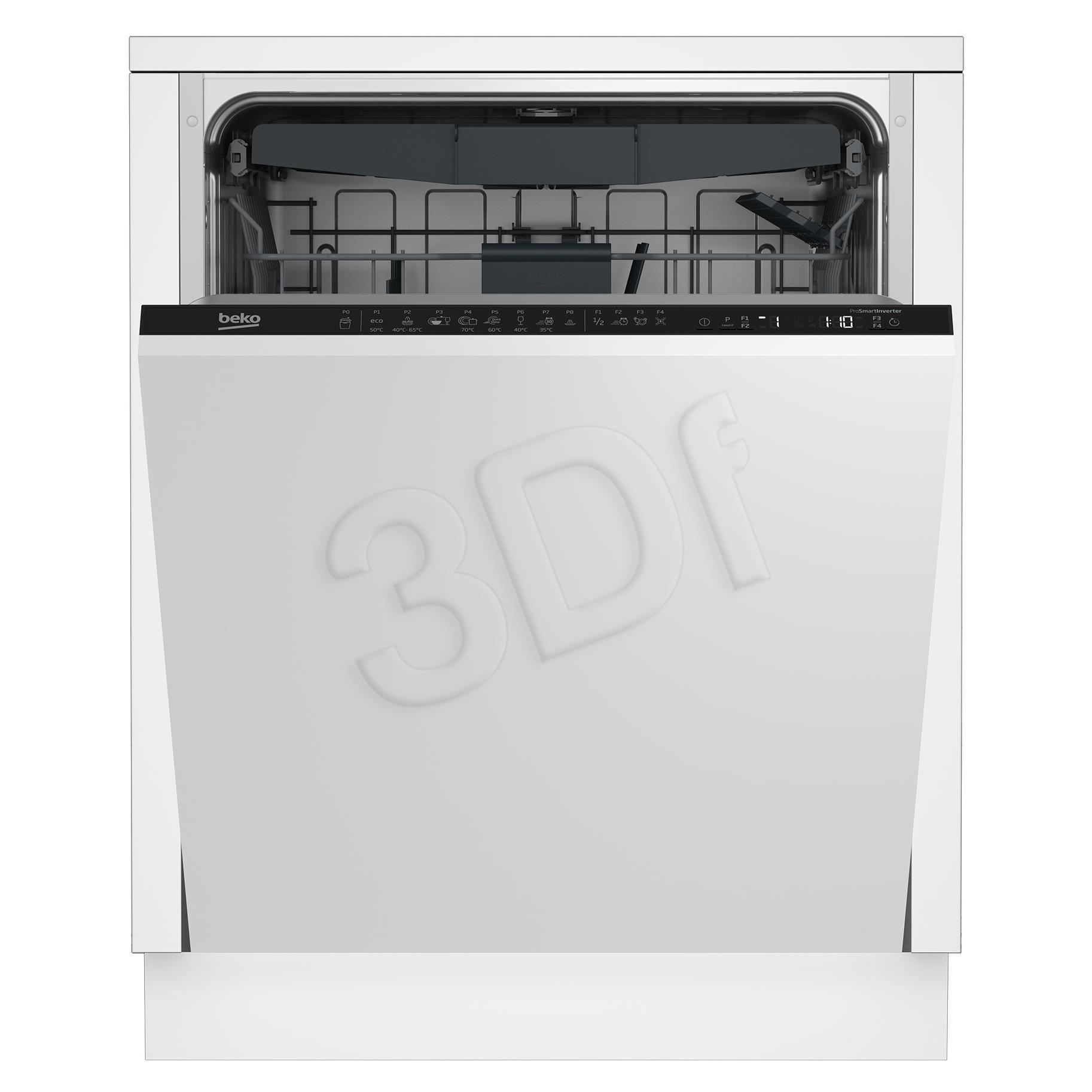 DIN28425 Dishwasher Iebūvējamā Trauku mazgājamā mašīna