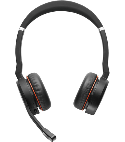 Jabra Evolve 75 MS       Stereo + charging stand austiņas