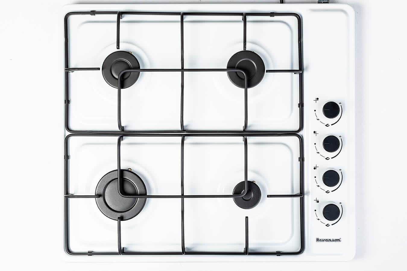 Ravanson Cooker  K-04TNG (Gas cooktop; 4 fields) plīts virsma