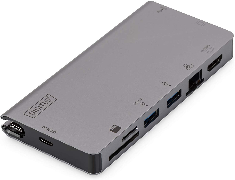 ASSMANN USB Type-C Multiport Travel Dock grafiskā planšete