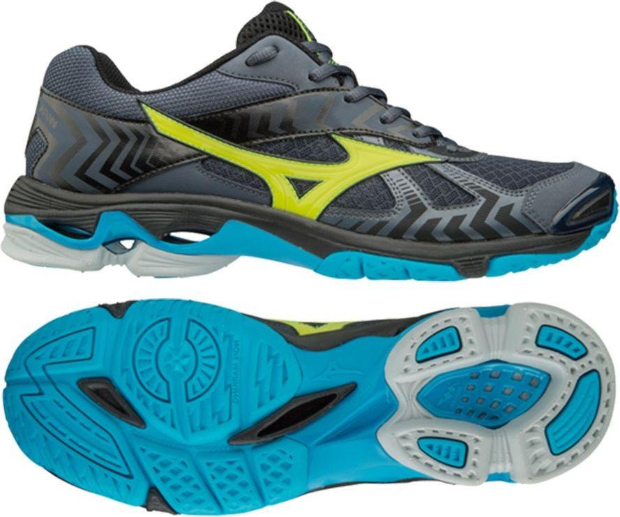 Mizuno Men's Wave Bolt 7 shoes black s.43 (V1GA186047)