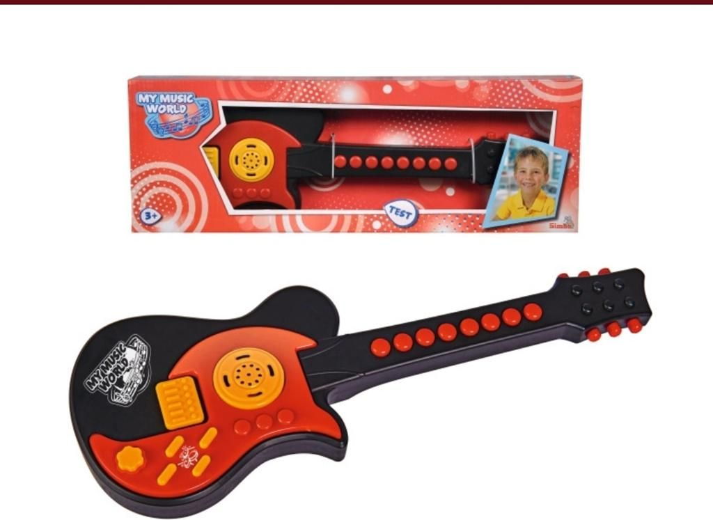 Simba Gitara Elektryczna 43cm 106834389