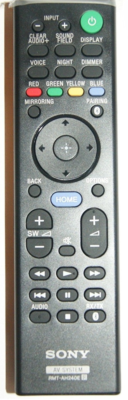 Sony Remote Commander (RMT-AH240E) pults