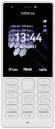 "Nokia 216 Grey, 2.4 "", TFT, 240 x 320 pixels, 16 MB, Dual SIM, Mini-SIM, Bluetooth, 3.0, USB version microUSB 1.1, Built-in camera, Mobilais Telefons"