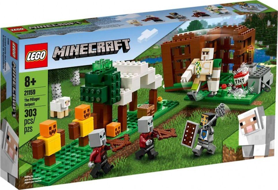 LEGO Minecraft 21159 The Pillager Outpost LEGO konstruktors