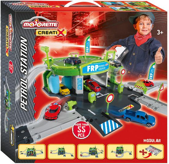 Majorette Gas station with Parking (212050010)
