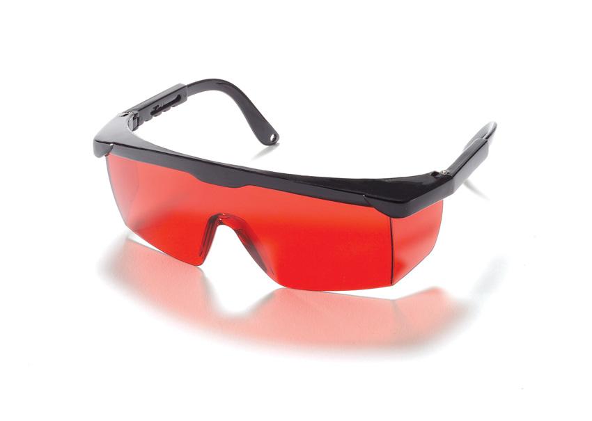 KAPRO lazera stara meklesanas brilles, sarkanas