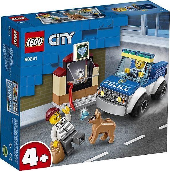 LEGO City 60241 Police Dog Unit LEGO konstruktors