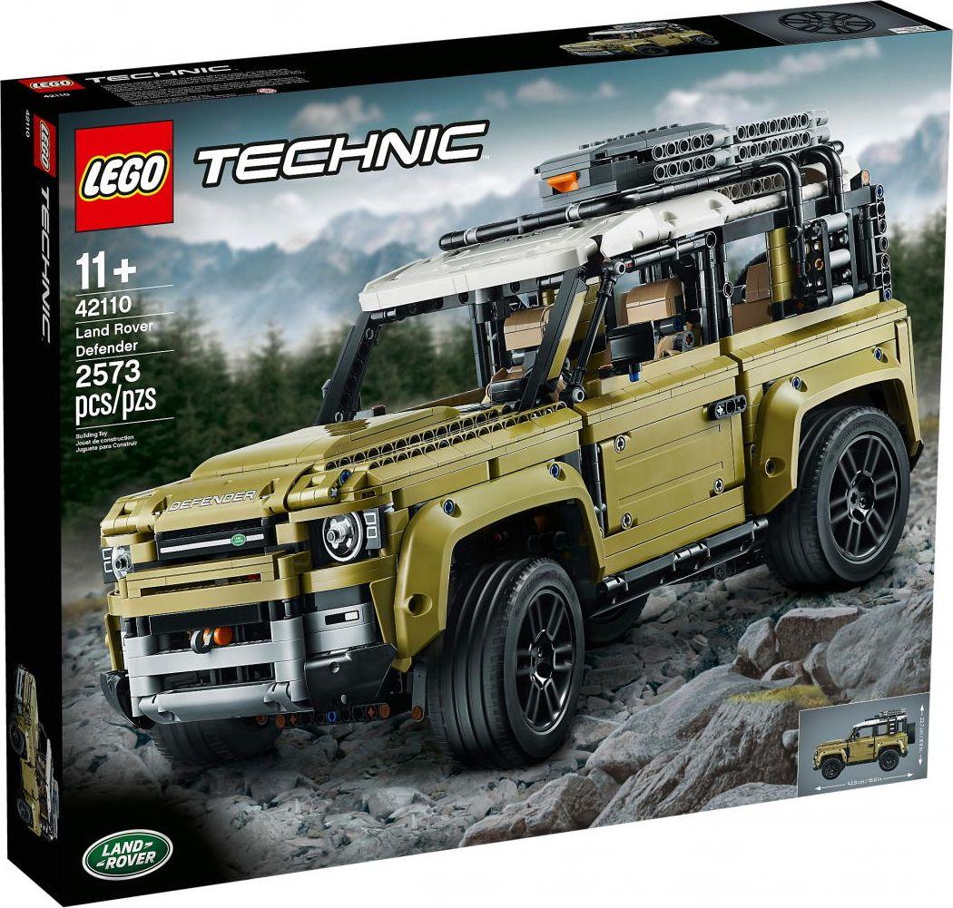 LEGO Technic 42110 Land Rover Defender LEGO konstruktors