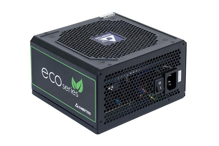 Chieftec ATX PSU ECO series GPE-500S, 500W Box Barošanas bloks, PSU