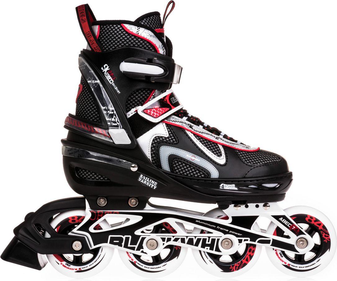 Blackwheels Adjustable skates Flex black and red. 35-38 Skrituļslidas