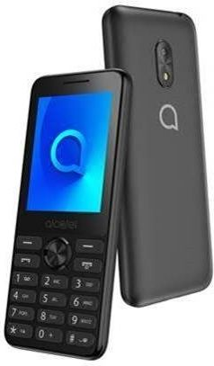 Telefon komorkowy Alcatel 20.03 szary 20.03 szary Mobilais Telefons