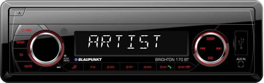 Blaupunkt Brighton 170BT (Bluetooth, USB + AUX) automagnetola