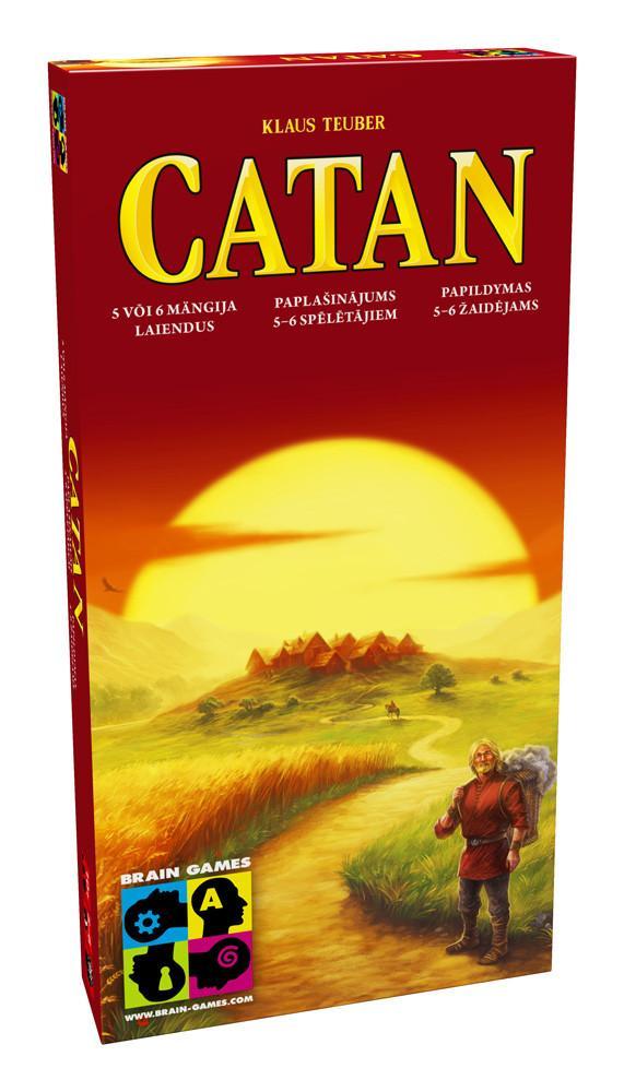 Brain Games Catan 5-6 Baltic galda spēle