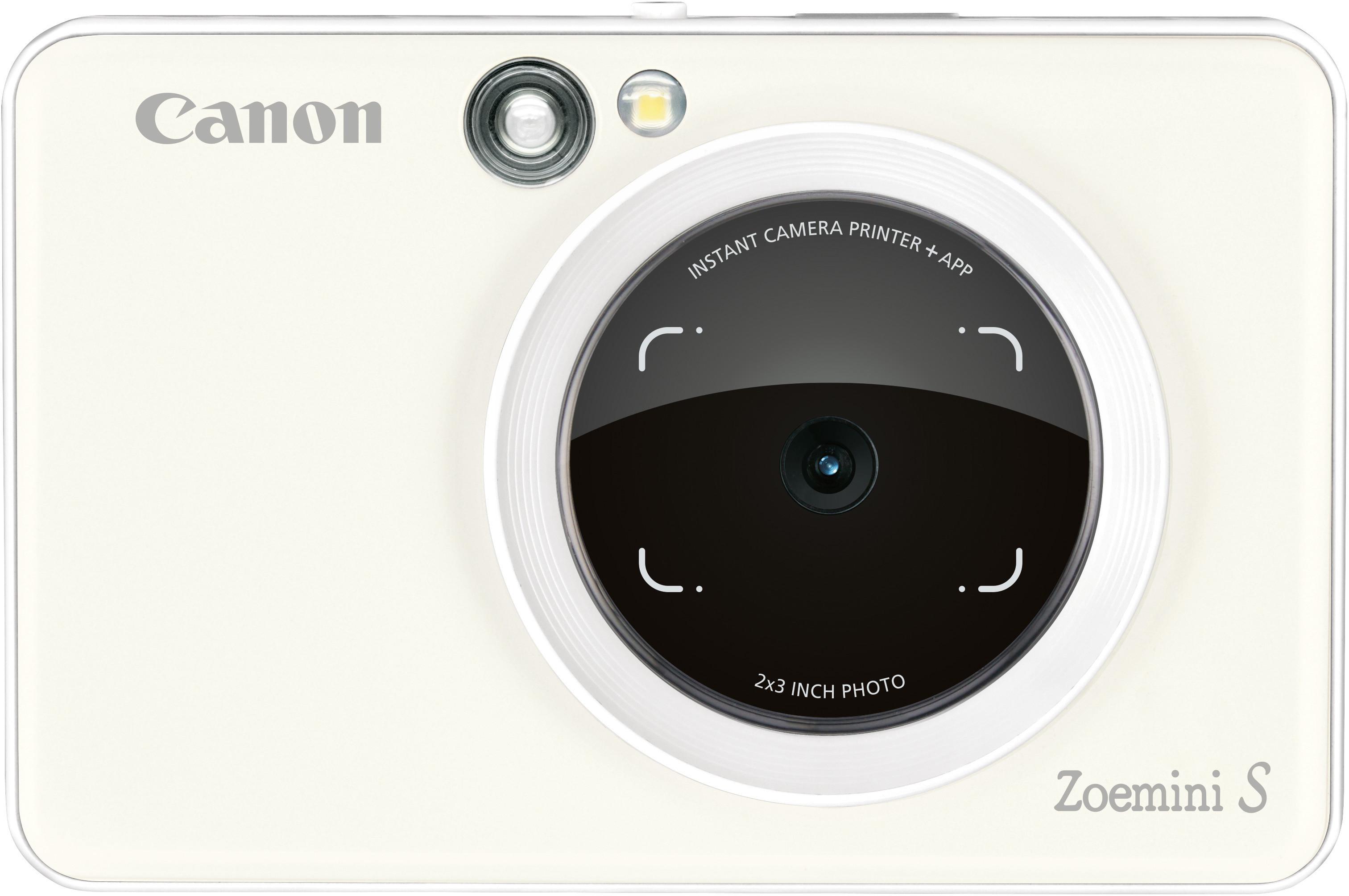 Canon Zoemini S pearl white Digitālā kamera