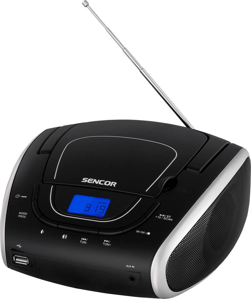 SENCOR SPT 1600 BS      CD/MP3/USB/Radio FM magnetola