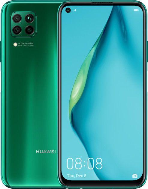 Huawei  P40 Lite 6/128GB DS Crush Green 51095CJX Mobilais Telefons