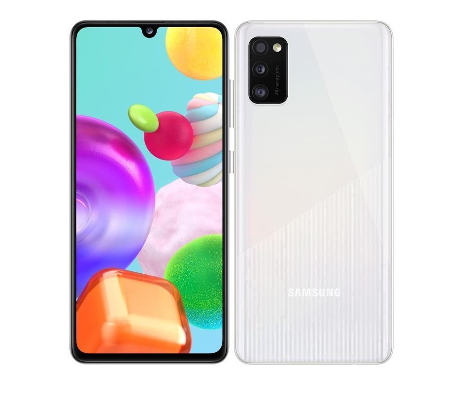 Samsung Galaxy A41 4GB/64GB White Mobilais Telefons