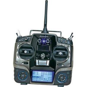 MX-20 HoTT 2.4GHz 12CH  GR-16 receiver, USB interface, memory card, battery, charger) GRA/33124.16