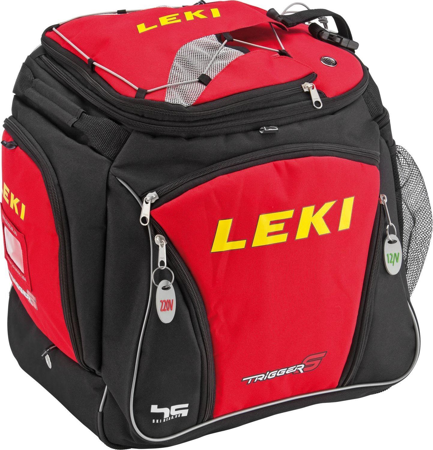 LEKI Podgrzewany plecak na buty Bootbag Hot czerwony (360011006) 360011006