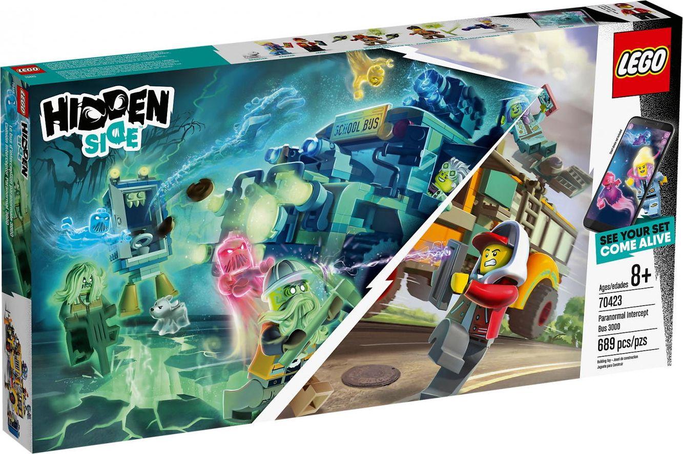 LEGO HIDDEN Side 70423 Paranormal Intercept Bus 3000 LEGO konstruktors