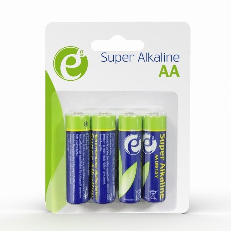GEMBIRD Alkaline batteries AA 4-pack Baterija