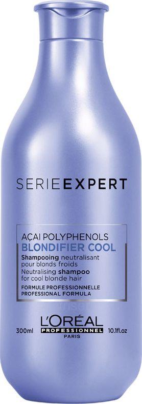 L'Oreal Professionnel Serie Expert Blondifier Cool Shampoo neutralizing shampoo for cool blond shades 300ml Matu šampūns