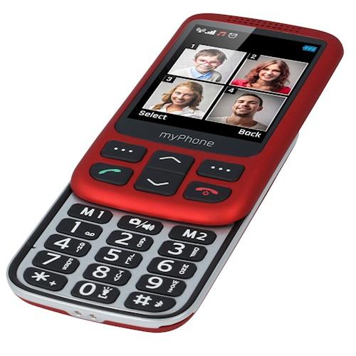 MyPhone HALO S red 5902983602095 T-MLX25535 Mobilais Telefons