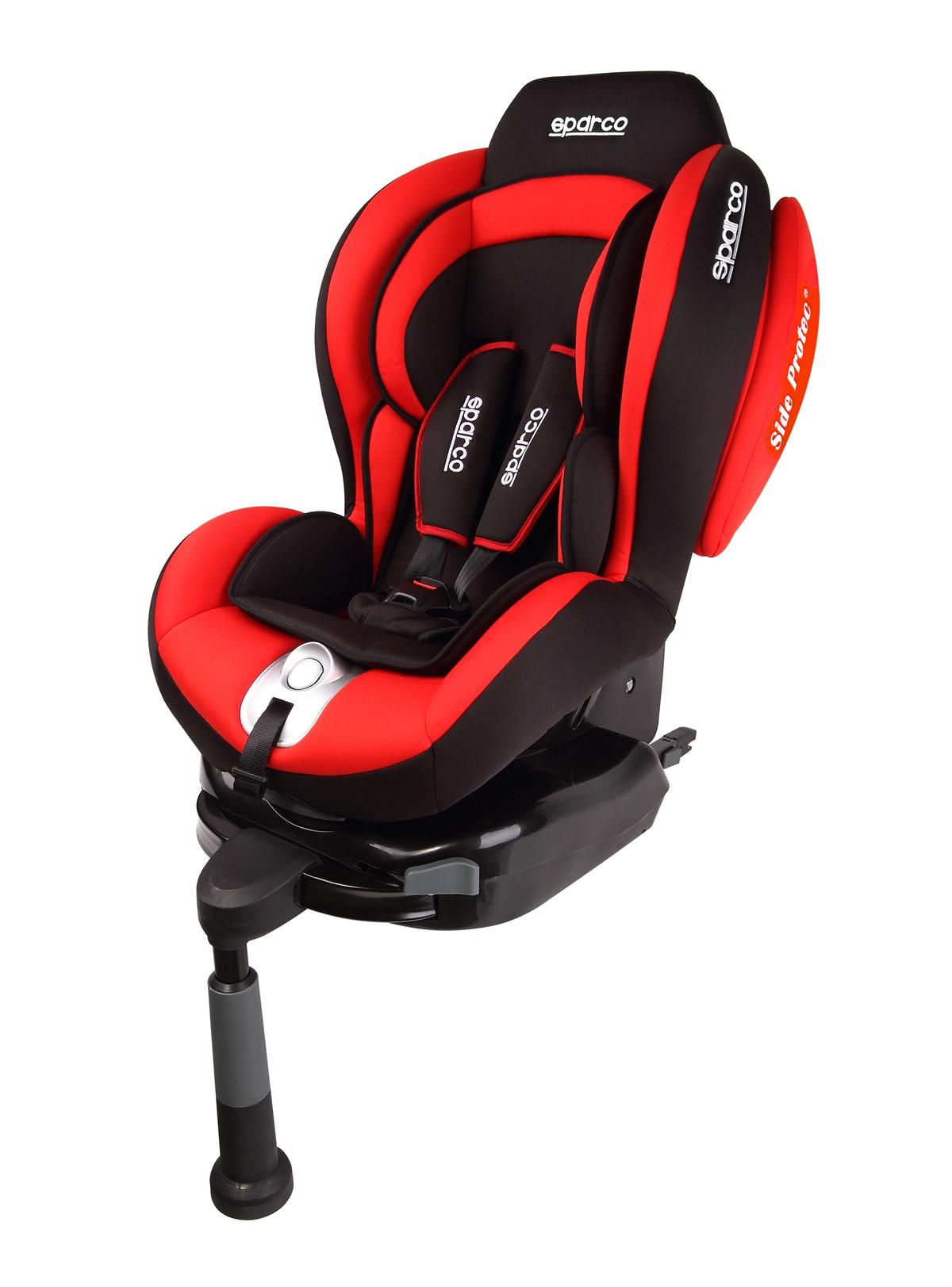 Sparco F500i Red Isofix (AKSF500IRD) 9-18 Kg 6922516301713 auto bērnu sēdeklītis