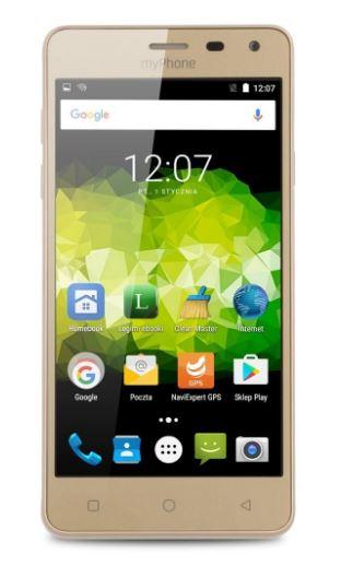 MyPhone PRIME 18X9 Dual mirror gold 5902983602163 T-MLX25540 Mobilais Telefons